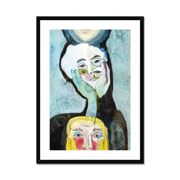 Transformation is a contemporary art printed on framed and mounted  print. Gallery Sesselja
