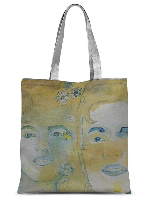 Three faces Sublimation Tote Bag