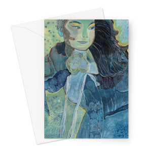 Björk Greeting Card