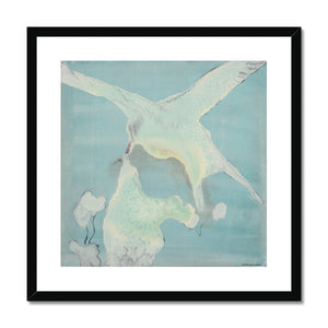 Framed and mounted print of Arctic terns. Gallery Sesselja.