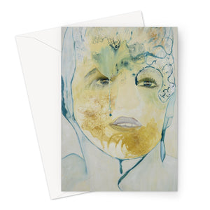 The Tear Greeting Card