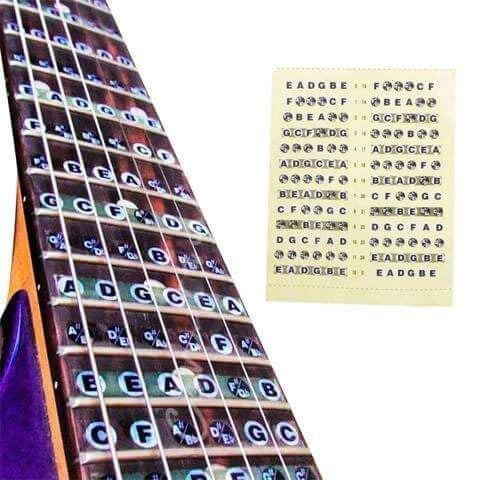 TheMusicGig Fretboard Inlay Stickers