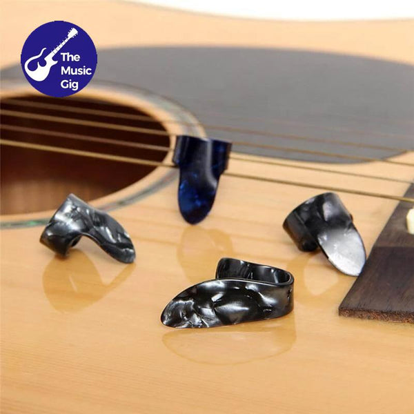 4 Piece Finger Guitar Pick Plectrum