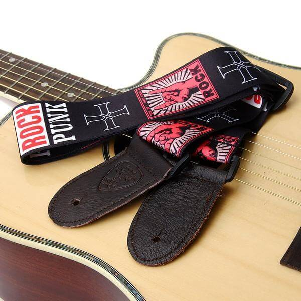Punk Rock Guitar Strap