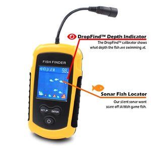Fish Finder with Depth Indicator