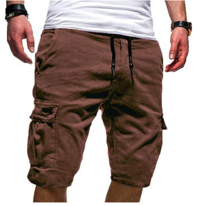 Casual multi-pocket men's pants