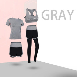 Yoga running fitness sportswear suit