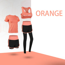 Load image into Gallery viewer, Yoga running fitness sportswear suit