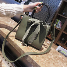 Load image into Gallery viewer, French branded female lady handbag with bowknot - onekfashion