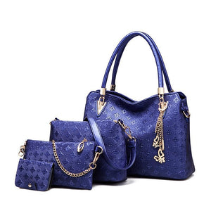 French four-piece set of luxury bags - onekfashion