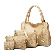 Load image into Gallery viewer, French four-piece set of luxury bags - onekfashion