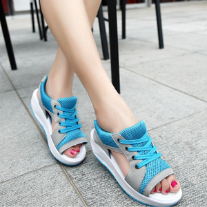 Summer platform casual sandals mesh shoes
