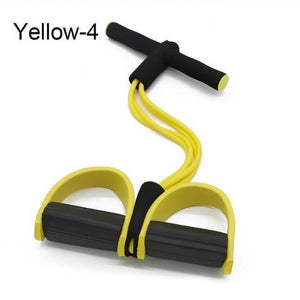 4 Tube Strong Fitness Resistance Bands - onekfashion