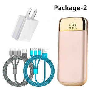 10000mAh Power Bank Family Package