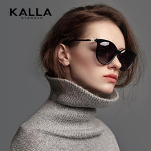 Load image into Gallery viewer, Kalla lady stylish big sunglasses for driving - onekfashion