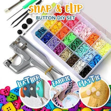 Load image into Gallery viewer, Snap Button DIY Set (240 Pcs Set)