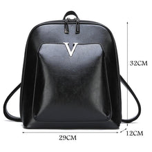 Load image into Gallery viewer, Vintage Leather Backpack Travel Bag - onekfashion