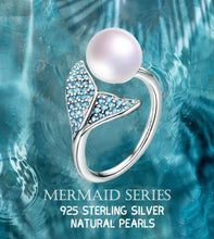 Load image into Gallery viewer, 925 Silver Mermaid Tail Rings - onekfashion