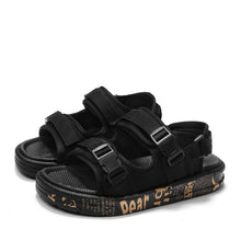 Load image into Gallery viewer, Double-velcro outdoor sandal【Free one electronic watch】