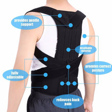 Load image into Gallery viewer, Unisex Adjustable Posture Corrector - onekfashion