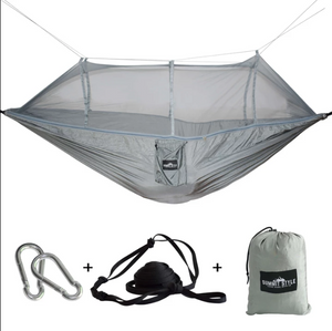 Ultralight Travel Hammock with Integrated Mosquito Net - onekfashion