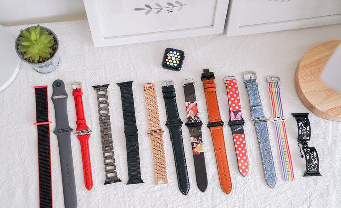 My apple watch band collection