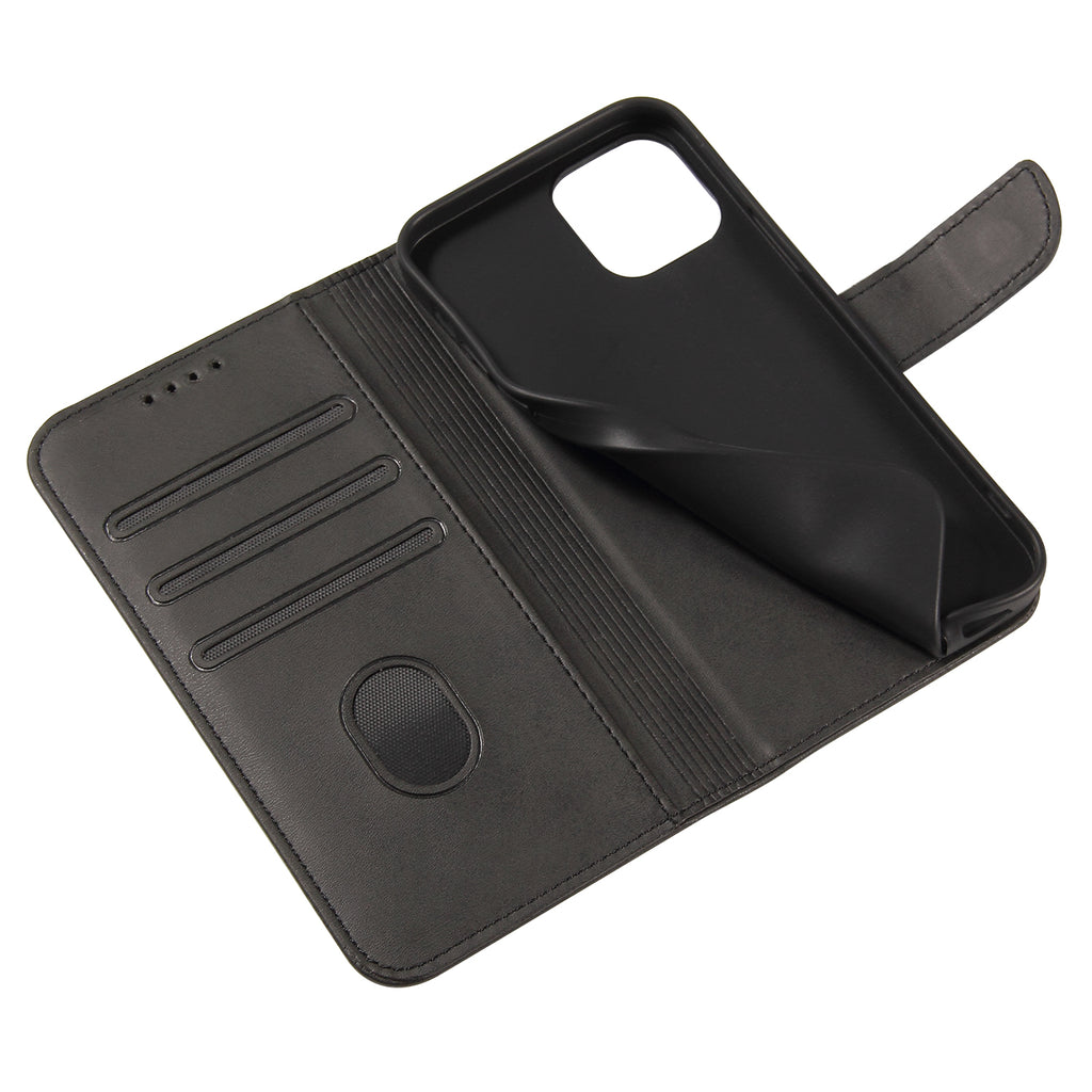 Apple iPhone 12 Mini Pro Max Magnetic Leather Wallet Case