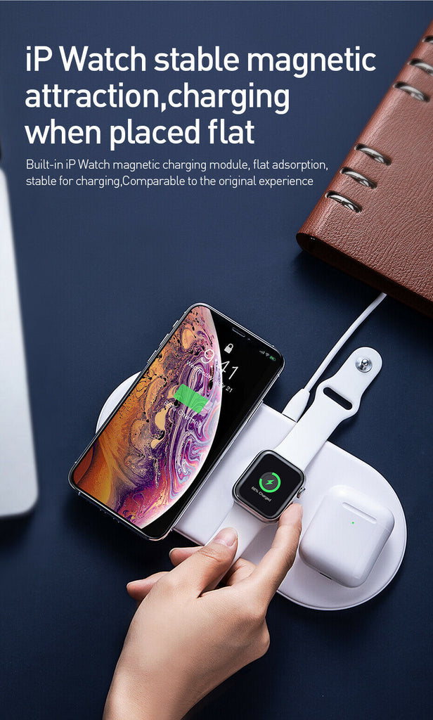 Air-power wireless charger