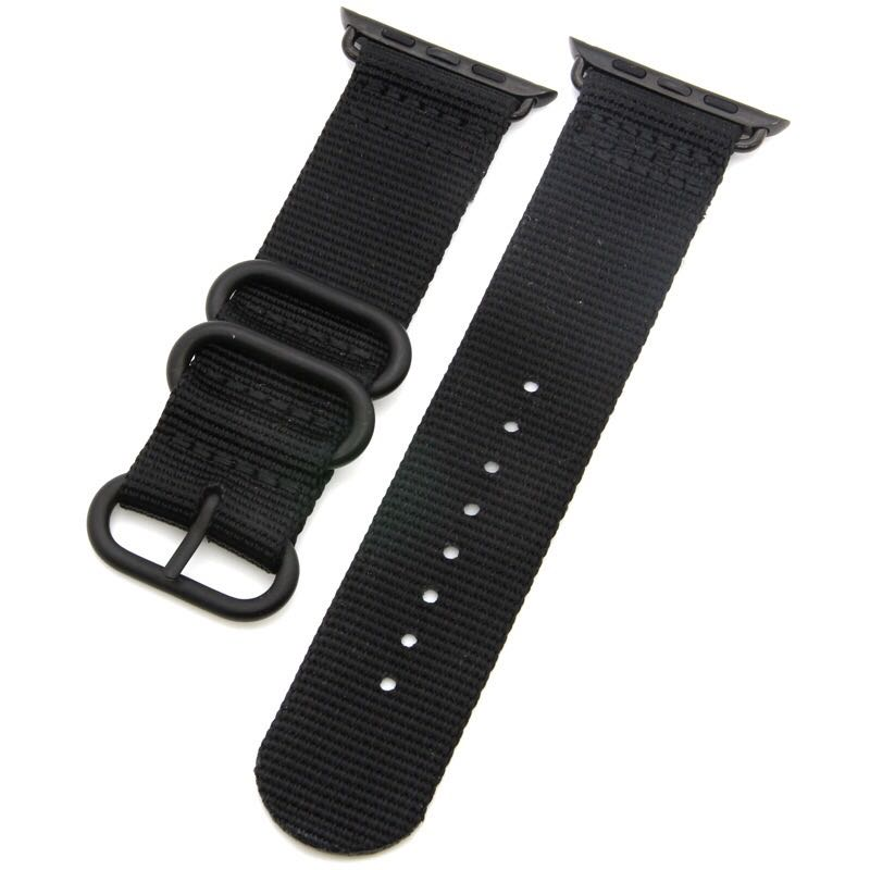 Nylon Wowen Canvas Apple Watch Band