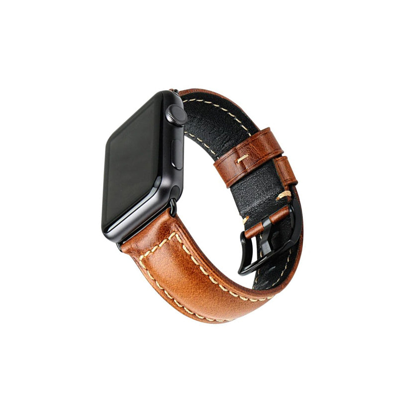 Apple Watch oil wax leather band