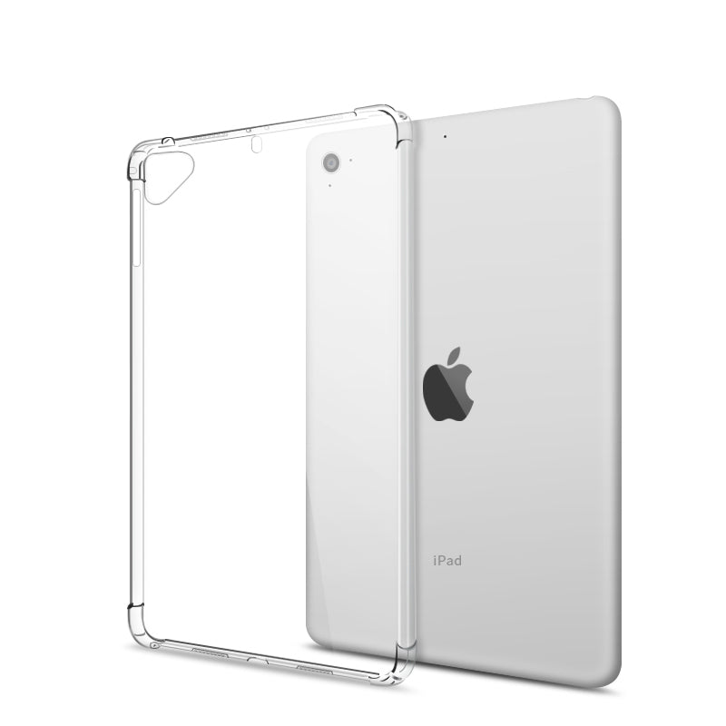 iPad shock absorb clear cover case
