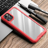 iPhone 12 Pro Max Mini Clear TPU Silicone Shockproof Case