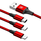 Baseus 3-in-1 charging cable