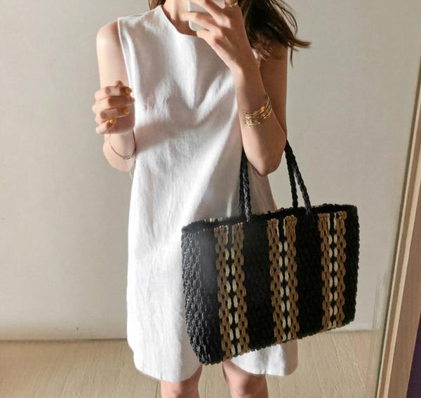 BGTEEVER Minimalism Sleeveless Women Short Dress Office Wear Solid Female Mini Dress 2020 Summer Casual Basic Vestidos Femme