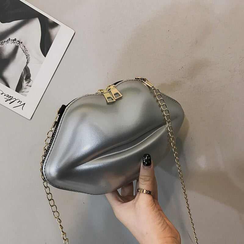 Lip-Shape Bag