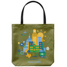 Load image into Gallery viewer, #LearnInATX Tote Bag