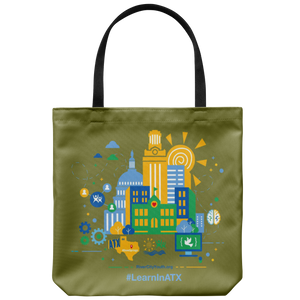 #LearnInATX Tote Bag