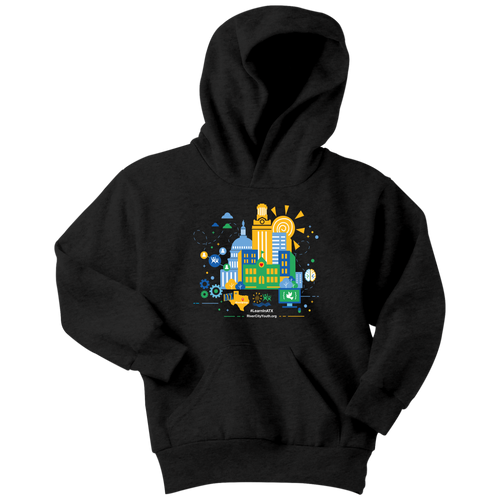 #LearnInATX Youth Hoodie