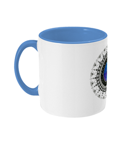 Two Toned Mug 'Cancer' - Rebecca Leah Designs