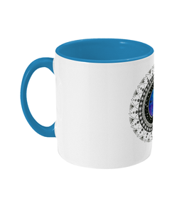 Two Toned Mug 'Aries' - Rebecca Leah Designs