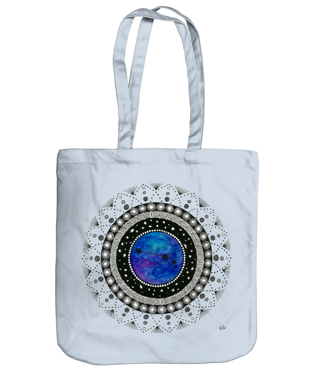 EarthAware Organic Tote 'Aries' - Rebecca Leah Designs