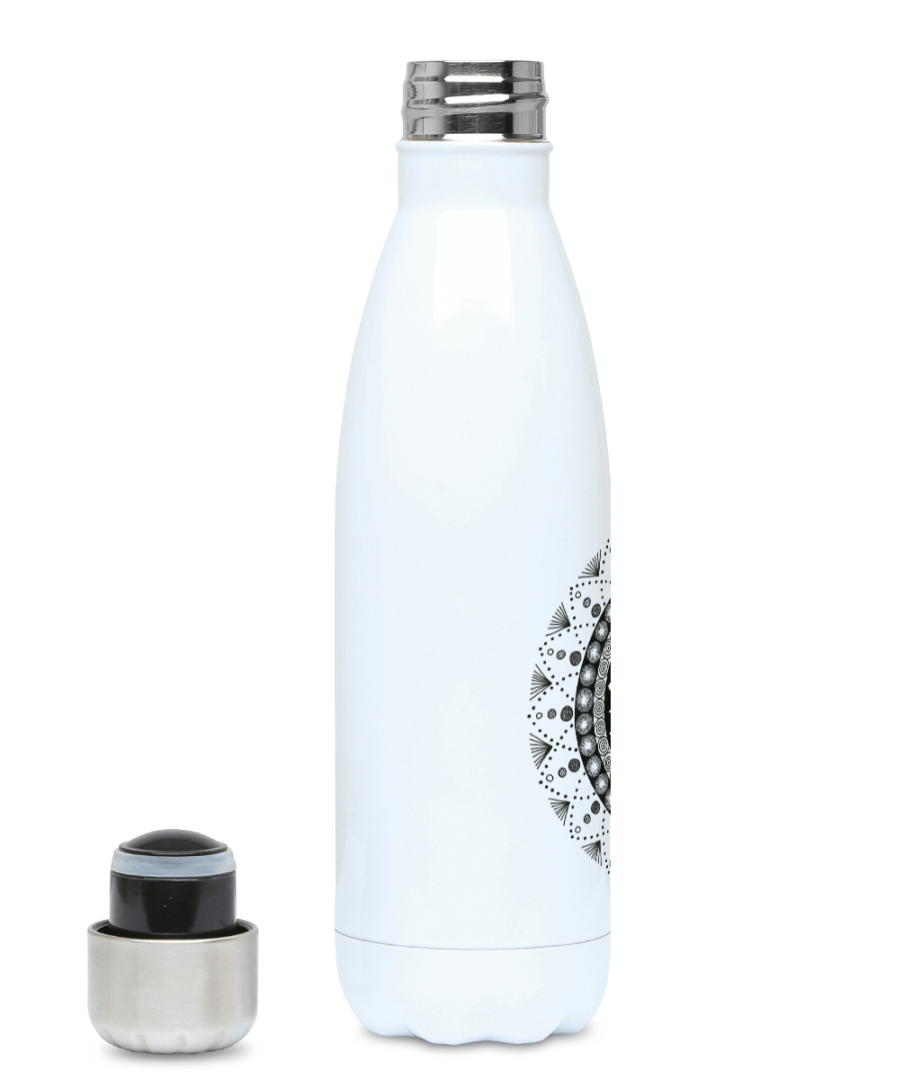 500ml Water Bottle 'Cancer' - Rebecca Leah Designs