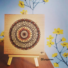 Load image into Gallery viewer, MINI MANDALA ART BLOCKS - Rebecca Leah Designs