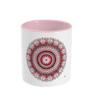 Load image into Gallery viewer, Two Toned Mug 'From The Heart' - Rebecca Leah Designs