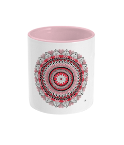 Two Toned Mug 'From The Heart' - Rebecca Leah Designs