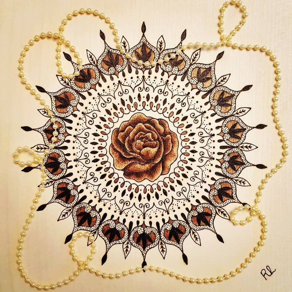 ENCOURAGING MANDALA - Rebecca Leah Designs