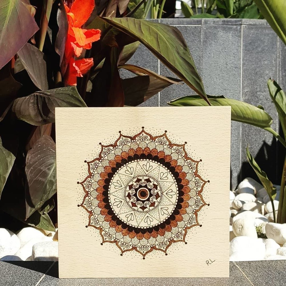 EXCITEMENT MANDALA - Rebecca Leah Designs