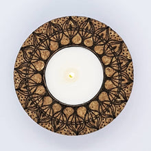 Load image into Gallery viewer, CORKFUL TEALIGHT HOLDERS - rebeccaldesigns