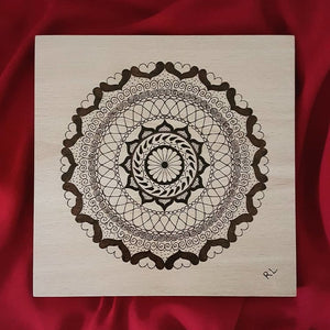 UNCONDITIONAL LOVE MANDALA - Rebecca Leah Designs