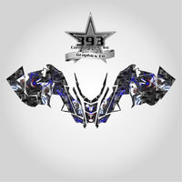 2015-2019 Polaris PRO AXYS RMK Graphics Decal Sticker Body 155 163 Evil Joker